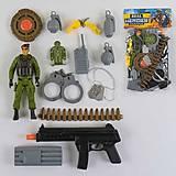 """Игровой набор """"Спецназ"""" с оружием, солдатиком, 88658, тойс ком юа"""