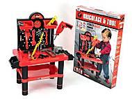 Игровой набор «Стол» с инструментами, 57008