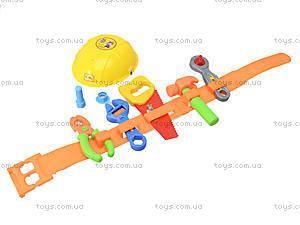 Игровой набор строительных инструментов, 338-7D, игрушки