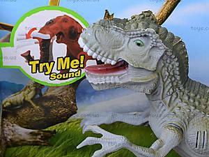 Динозавры, игровой набор с аксесс, звук, 800-67, фото