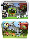Динозавры, игровой набор с аксесс, звук, 800-67, отзывы