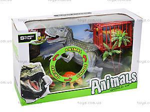 Динозавры, игровой набор с аксесс, звук, 800-67, цена