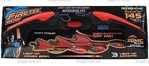 Светящийся арбалет Firetek, красный, AS990R, детские игрушки