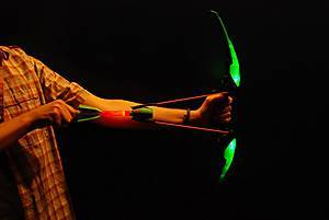 Игровой набор «Светящийся арбалет Firetek», зеленый, AS990G, игрушки