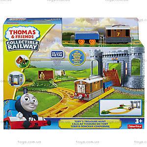 Игровой набор Томас и друзья «Тоби в поисках сокровищ», BMF07, отзывы