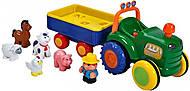 Игровой набор «Трактор фермера», на русском языке, 049726