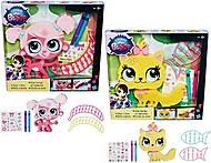 Игровой набор Littlest Pet Shop «Укрась зверюшку», B0033