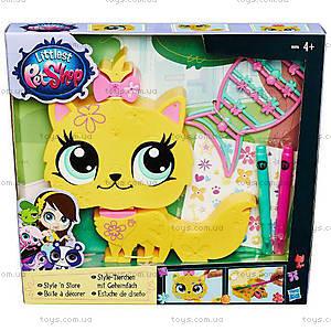 Игровой набор Littlest Pet Shop «Укрась зверюшку», B0033, фото