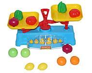 Игровой набор «Весы» с продуктами, 53787, фото