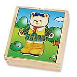 Игровой набор Viga Toys «Гардероб медведицы», 56403, фото