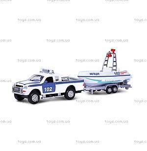 Игровой набор «Водная полиция» с патрульным катером, SL767WB-SB-PP