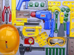 Игровой набор инструментов для детей, T201, отзывы