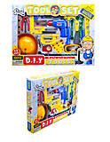 Игровой набор инструментов для детей, T201, фото