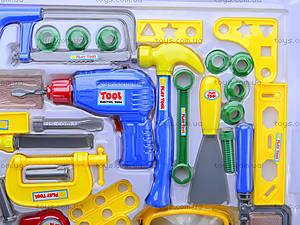 Игровой набор инструментов для детей, T201, детские игрушки