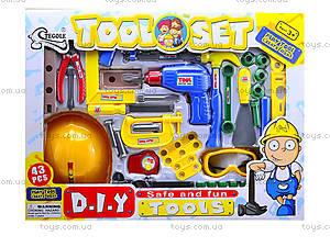 Игровой набор инструментов для детей, T201, магазин игрушек