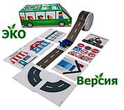 Игровой набор «Зеленый автобус Быстрый старт Эко» украинский язык, TRIK-18026, фото