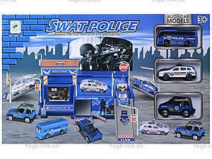Игровой паркинг для полицейских машин, 660-76, отзывы