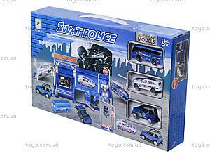 Игровой паркинг для полицейских машин, 660-76, цена