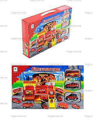 Игровой паркинг «Пожарный» с машинками, 660-77