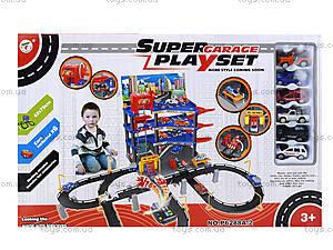 Игровой паркинг с машинками для детей, P6288A-2, цена