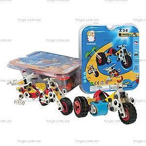 Игровой пластиковый конструктор Build&Play «Транспорт», 2555-15Е