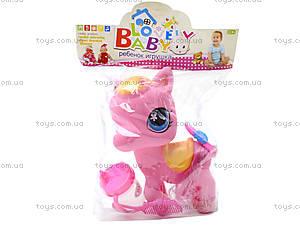 Игровой пони с аксессуарами, 1225A, детские игрушки