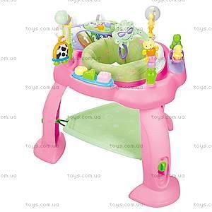 Игровой развивающий центр «Музыкальный стульчик», розовый, 696-P