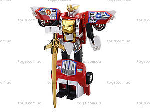 Игровой робот-трансформер, для детей, 2610A, фото