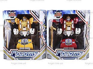 Игровой робот-трансформер, для детей, 2610A, цена