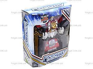 Игровой робот-трансформер, для детей, 2610A, детские игрушки