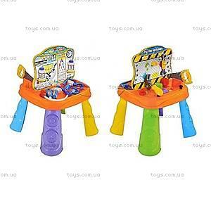 Игровой столик «Игрушечные инструменты + доктор», 9002