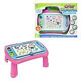 """Игровой столик """"Color WordPad"""" розовый (009-2032), 009-2032, фото"""