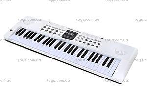 Игровой синтезатор с микрофоном, для детей, HS5416B, купить