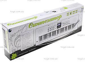 Игровой синтезатор с микрофоном, для детей, HS5416B, фото
