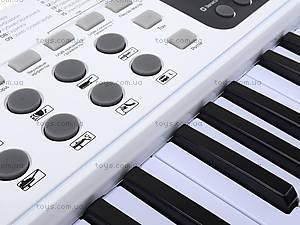 Игровой синтезатор с микрофоном, для детей, HS5416B, цена
