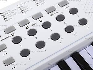 Игровой синтезатор с микрофоном, для детей, HS5416B, детские игрушки