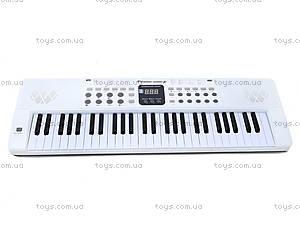 Игровой синтезатор с микрофоном, для детей, HS5416B, магазин игрушек