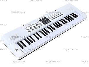 Игровой синтезатор с микрофоном, для детей, HS5416B, toys