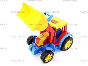 Игровой трактор «Гигант» для детей, 66000, отзывы