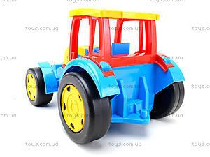 Игровой трактор с прицепом «Гигант», 66100, купить