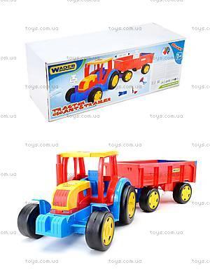 Игровой трактор с прицепом «Гигант», 66100