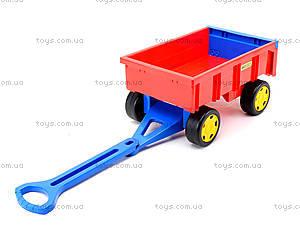 Игровой трактор с прицепом «Гигант», 66100, цена