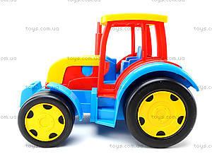 Игровой трактор с прицепом «Гигант», 66100, игрушки