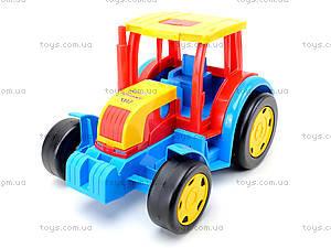 Игровой трактор с прицепом «Гигант», 66100, магазин игрушек