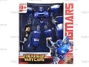 Игровой трансформер-автомобиль для детей, 3132, игрушки