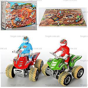 Игровой трек для квадроциклов с песком, 8888-27