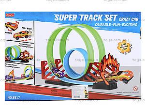 Игровой трек для машин с горками , 8817, детские игрушки
