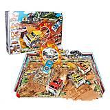 Игровой трек с полем-пазлом «Настоящее ралли», 8888-26, купить