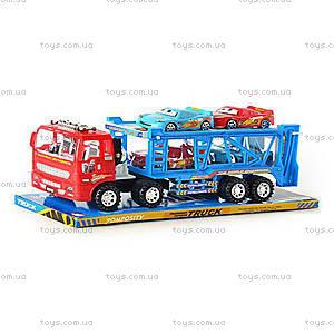 Игровой трейлер с автомобилями, RJ6601