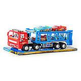 Игровой трейлер с автомобилями, RJ6601, toys.com.ua
